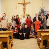 Czuliśmy się jak jedna rodzina – spotkanie opłatkowe Grupy Franciszek :)